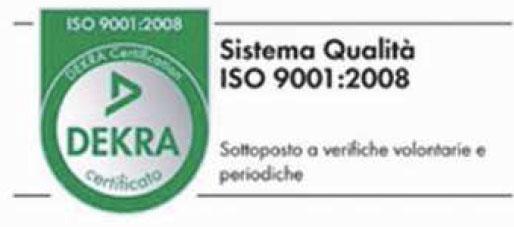 ditta certificata EN ISO 9002